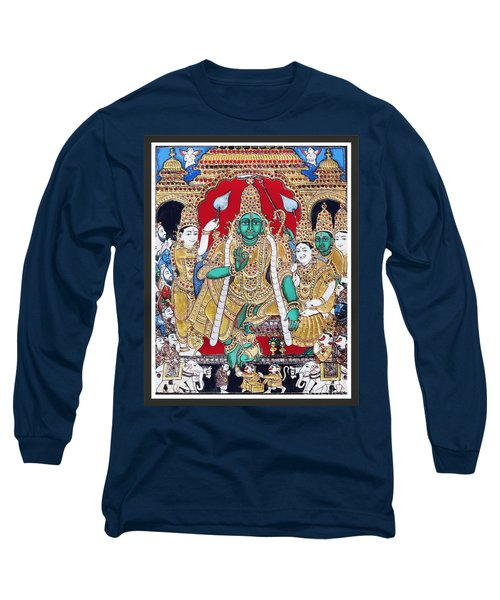 Sri Ramar Pattabhishekam Long Sleeve T-Shirt