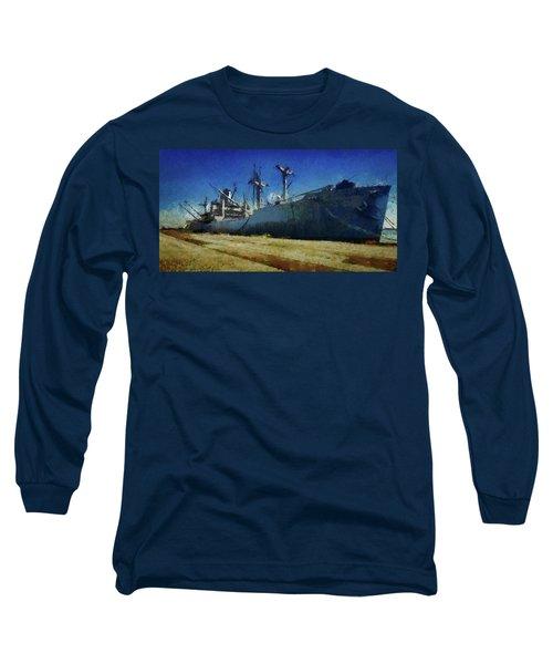 Ss Lane Victory Long Sleeve T-Shirt by Joseph Hollingsworth