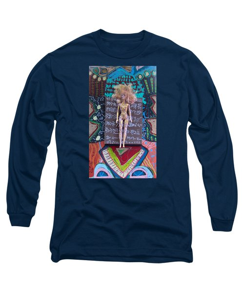 Long Sleeve T-Shirt featuring the painting St. John's Wort Herbal Tincture by Clarity Artists