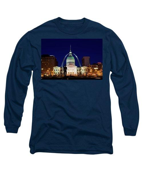 Long Sleeve T-Shirt featuring the photograph St. Louis by Steve Stuller