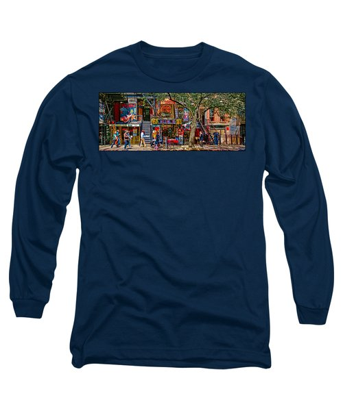 St Marks Place Long Sleeve T-Shirt by Chris Lord