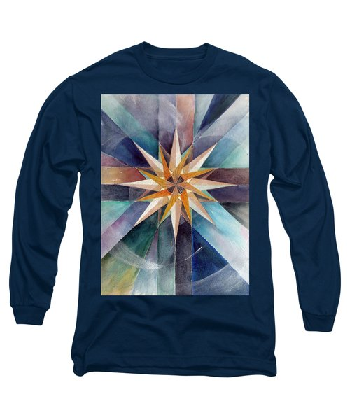 Star Mandala 2  Long Sleeve T-Shirt