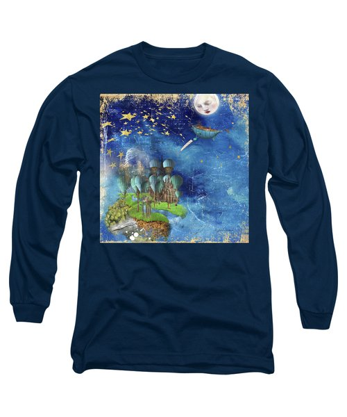 Starfishing In A Mystical Land Long Sleeve T-Shirt