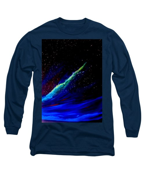Starry Night Long Sleeve T-Shirt by Scott Wilmot