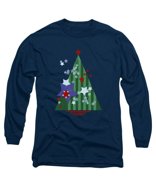 Stars And Stripes - Christmas Edition Long Sleeve T-Shirt