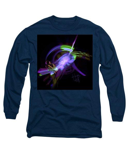 Starship Saxophone Long Sleeve T-Shirt by DC Langer