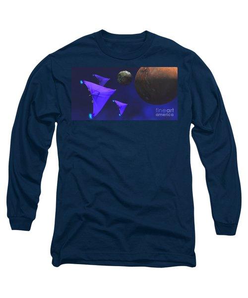 Starship Travel Long Sleeve T-Shirt