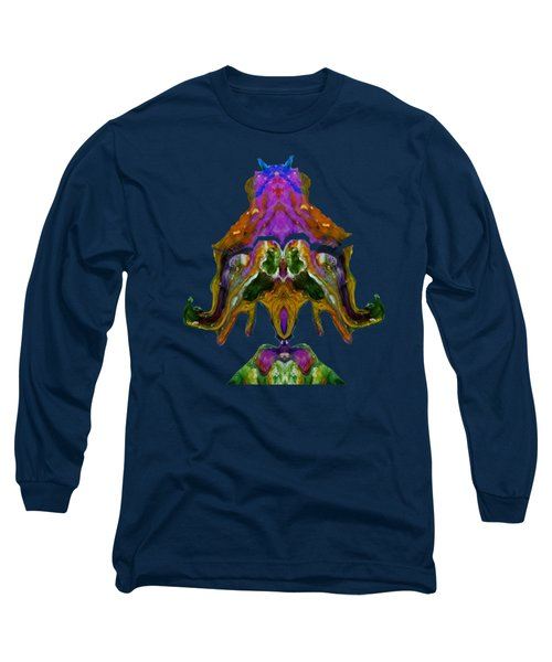 Startled Right Outta My Hat Long Sleeve T-Shirt by Lori Kingston