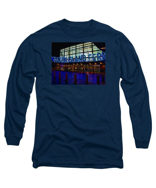 Staten Island Ferry 236 Long Sleeve T-Shirt