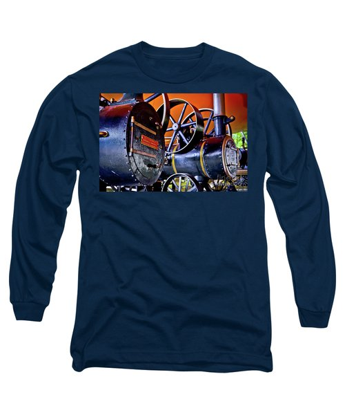 Steam Engines - Locomobiles Long Sleeve T-Shirt