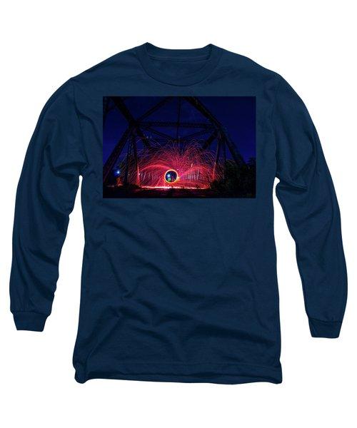 Steel Wool Spinner Long Sleeve T-Shirt
