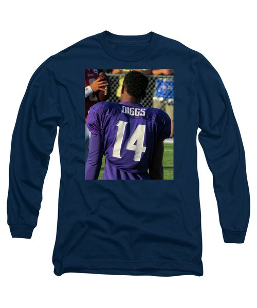 Stefon Diggs Long Sleeve T-Shirt by Kyle West
