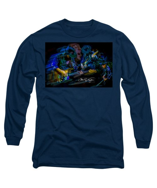 Stevie Ray Vaughan - Double Trouble Long Sleeve T-Shirt