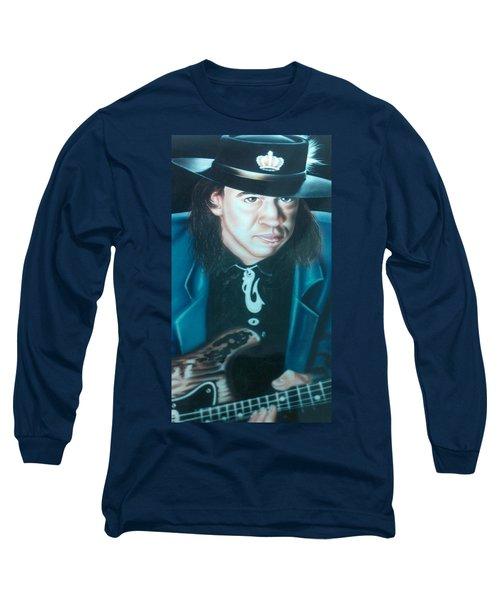 Stevie Ray Vaughn Long Sleeve T-Shirt