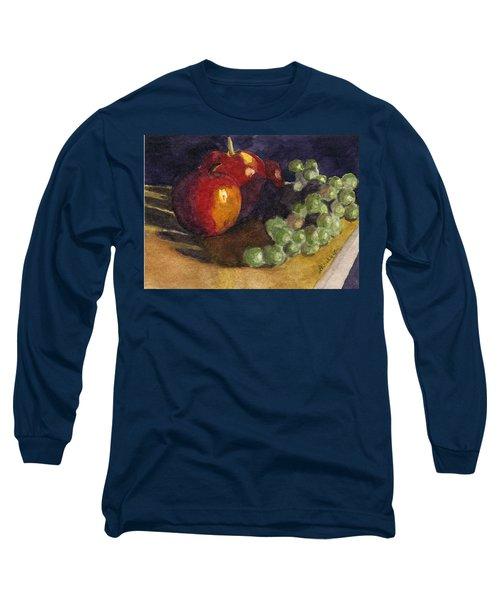 Still Apples Long Sleeve T-Shirt