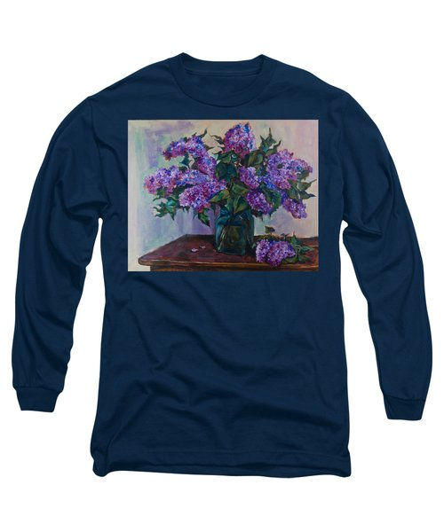 Still Life With Lilac  Long Sleeve T-Shirt