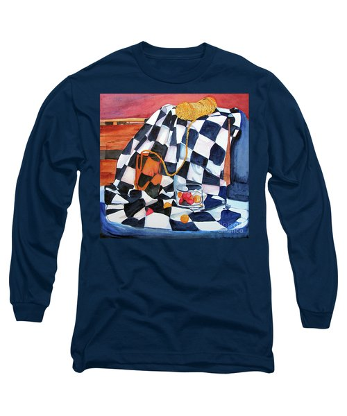 Still Life With Squares Long Sleeve T-Shirt