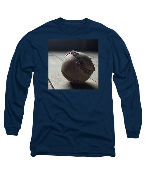 Baseball Still Life Long Sleeve T-Shirt by Andrew Pacheco