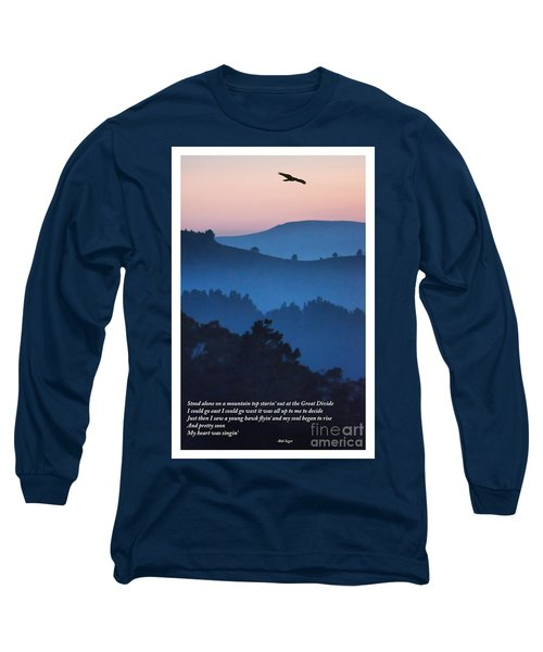 Stood Alone On The Mountain Top Long Sleeve T-Shirt