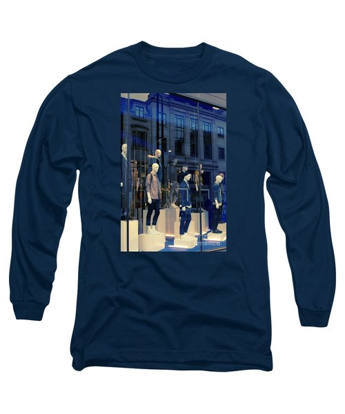 Store Window, London,uk Long Sleeve T-Shirt