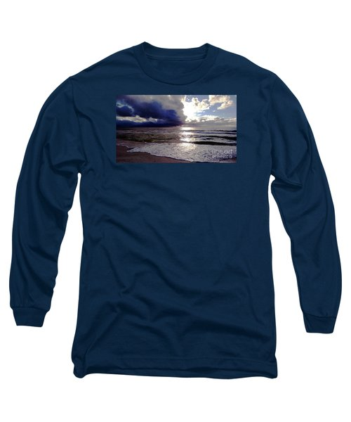 Long Sleeve T-Shirt featuring the photograph Storm Clouds 1 by Vicky Tarcau