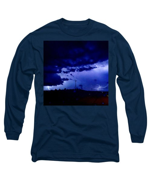 Storm On Farmer's Turnpike Long Sleeve T-Shirt