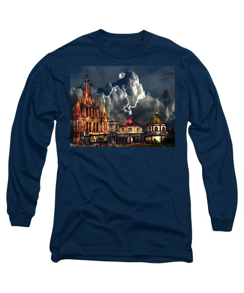 Stormy Night Long Sleeve T-Shirt