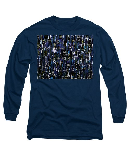 Stormy Night In The City Long Sleeve T-Shirt