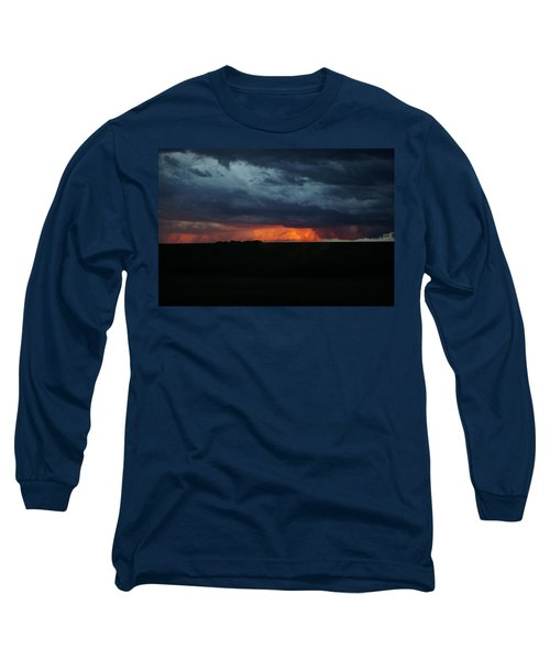 Stormy Weather Long Sleeve T-Shirt by Kathy M Krause