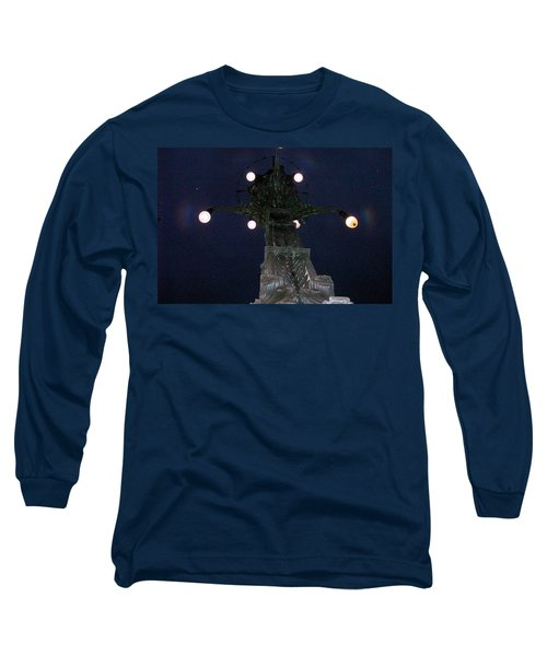 Strange Eyes Long Sleeve T-Shirt