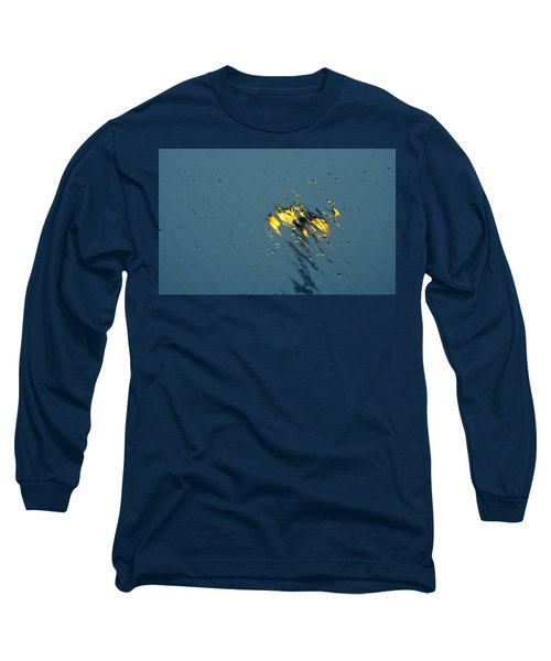 Street Lights Long Sleeve T-Shirt by Betty-Anne McDonald