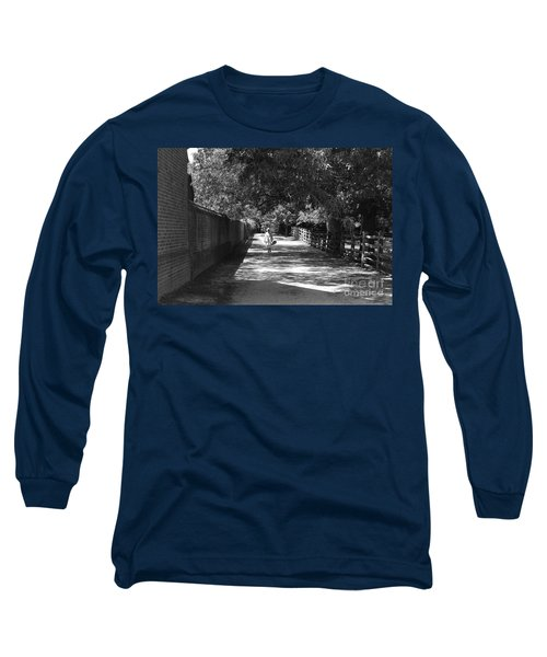 Stroll To Store Long Sleeve T-Shirt by Eric Liller