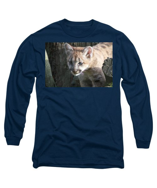 Long Sleeve T-Shirt featuring the photograph Studying The Ways by Laddie Halupa
