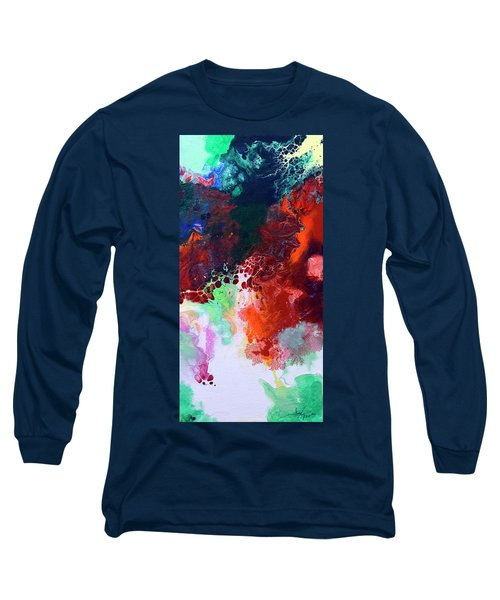 Subtle Vibrations, Canvas Five Of Five Long Sleeve T-Shirt