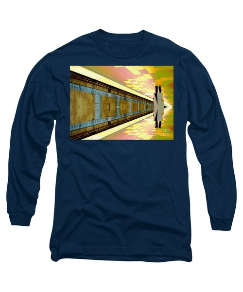 Subway Man Long Sleeve T-Shirt