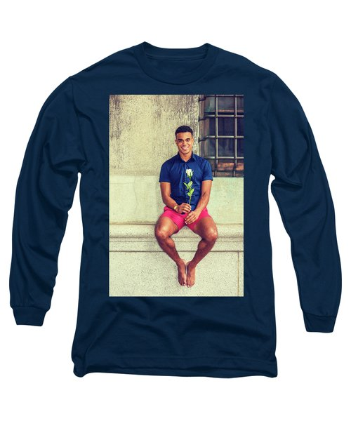 Summer In City Long Sleeve T-Shirt