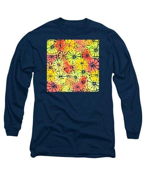 Summer Lemons Long Sleeve T-Shirt