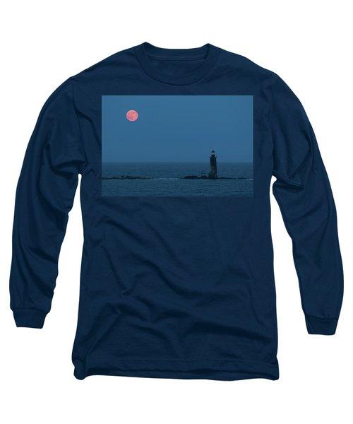 Summer Solstice Strawberry Moon Long Sleeve T-Shirt
