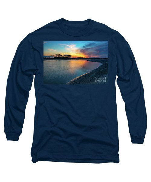 Summer Sunrise At The Inlet Long Sleeve T-Shirt