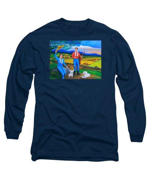 Summer View Long Sleeve T-Shirt by Cyril Maza