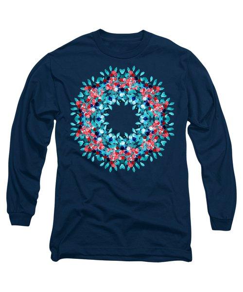 Summer Wreath Long Sleeve T-Shirt