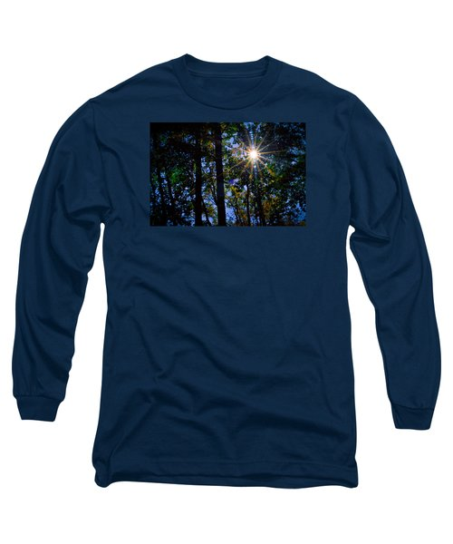 Sun Star Long Sleeve T-Shirt by Carlee Ojeda
