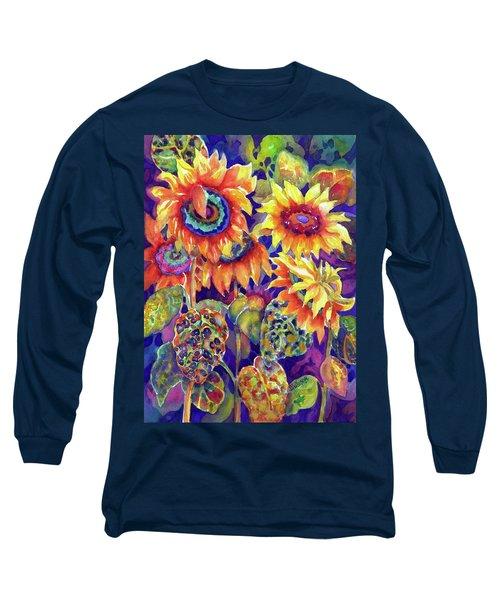 Sunflower Garden I Long Sleeve T-Shirt