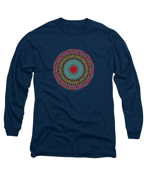 Sunflower Mandala Long Sleeve T-Shirt