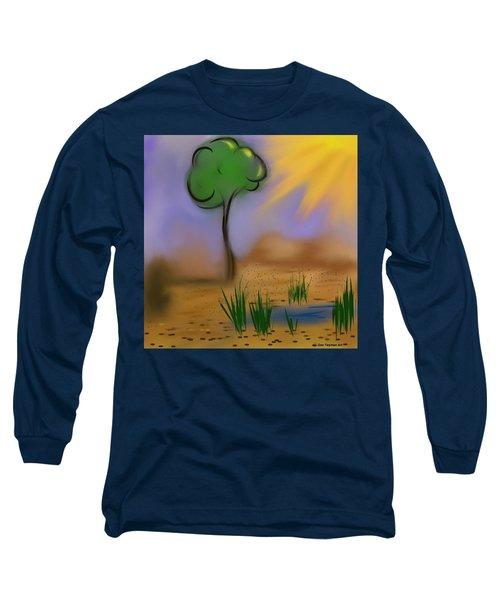Sunny Day Long Sleeve T-Shirt by Dan Twyman