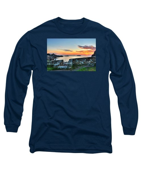 Sunrise At Castle Rock Marblehead Ma Long Sleeve T-Shirt
