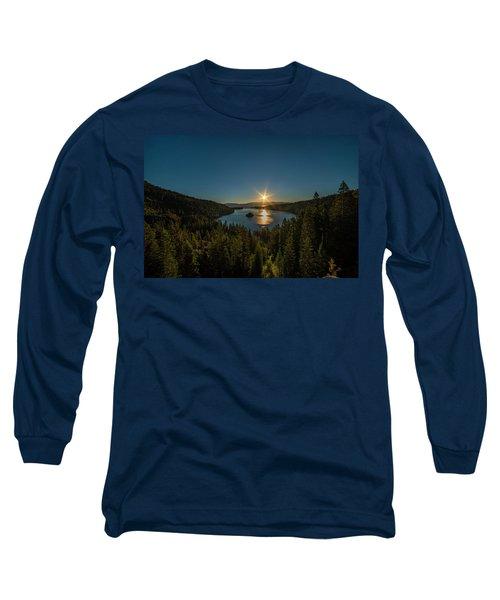 Sunrise At Emerald Bay Long Sleeve T-Shirt
