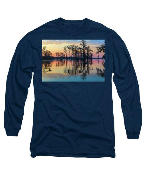 Sunrise, Bald Cypress Of Nc  Long Sleeve T-Shirt