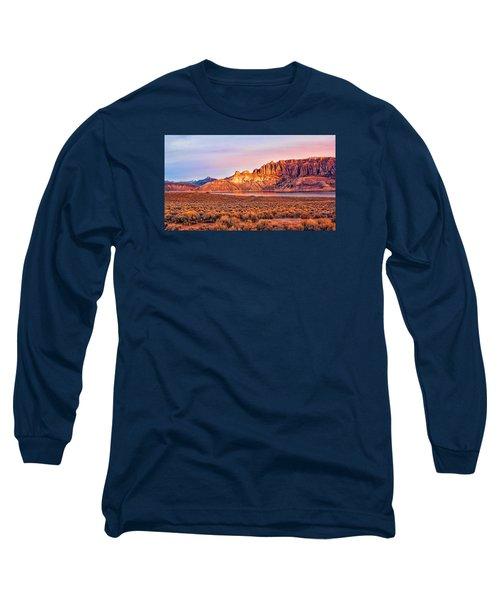 Sunrise On Dillon Pinnacles Long Sleeve T-Shirt