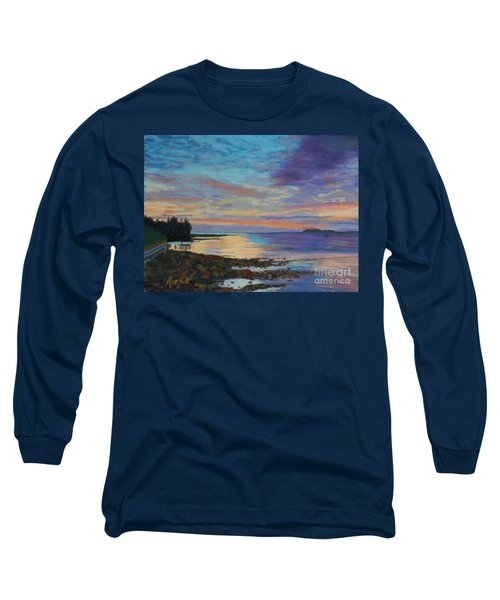Sunrise On Tancook Island  Long Sleeve T-Shirt by Rae  Smith PAC